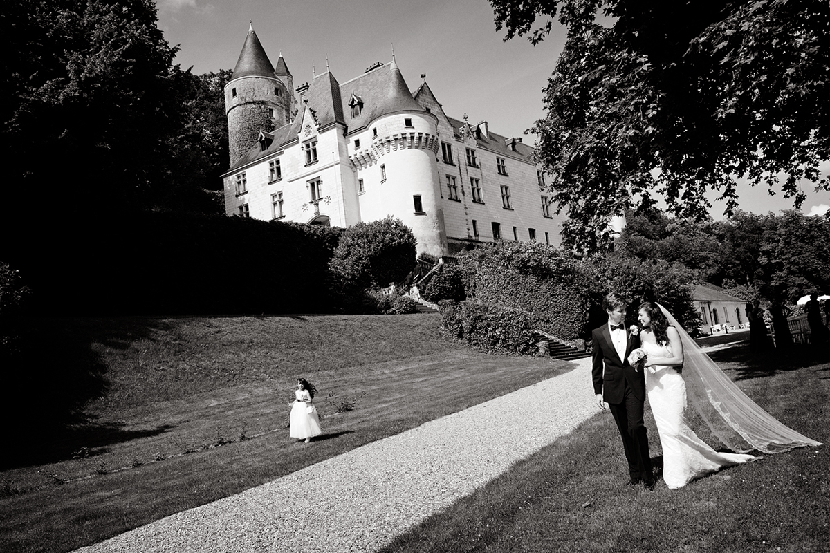 Jennie & Stephen's wedding at Chateau de Chissay, 26th June 2010 photo©Tim Fox