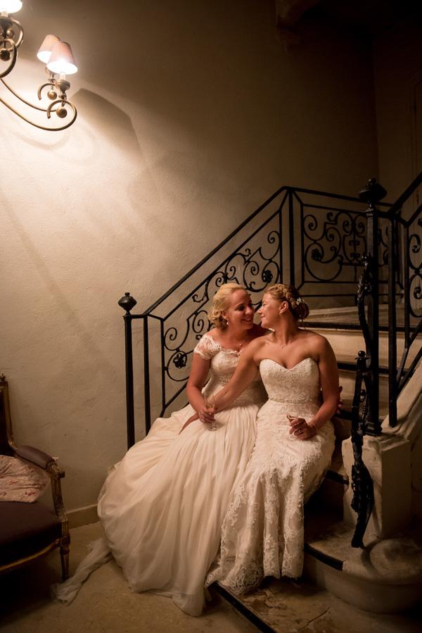 Jenna & Shelley_same sex wedding Provence_089